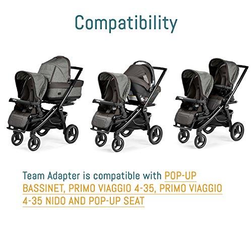 Amazon.com: Peg Perego Equipo adaptador, Carbón vegetal: Baby