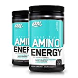 Optimum Nutrition Amino Energy, Blueberry Mojito 30 Servings  (Pack of 2) Review