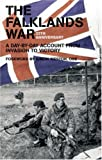 Front cover for the book The Falklands War: A Day-by-day Account from Invasion to Victory by Marshall Cavendish