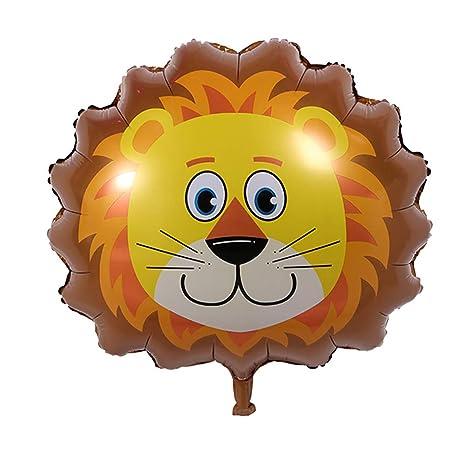 JUNGEN Globos de Animales con Forma de león Globo de ...
