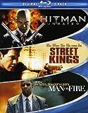 3 pack blu ray - Hard Action Blu-ray Three-Pack (Hitman / Street Kings / Man on Fire)