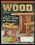 img - for Better Homes & Gardens Wood Magazine June 1996 book / textbook / text book