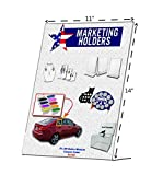 Marketing Holders Slant Back Acrylic Table Sign Holder, Frame 11 x 14 Inches