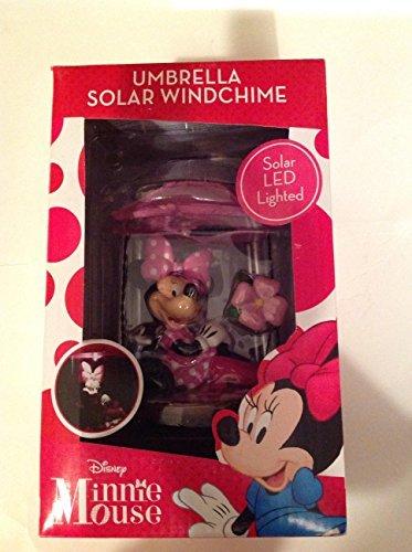 - 26 Inch Disney Minnie Mouse Umbrella Solar Windchime
