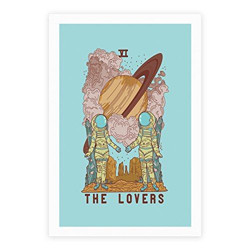tarot card poster the lovers