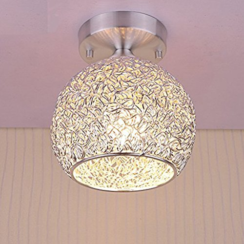 Mini Modern Chandeliers Creative Aluminum Ceiling Light for Girls Room,Bedroom,Hallway and Closet (Height 6.70