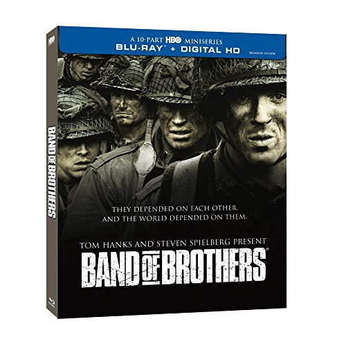 Blu-ray : Band of Brothers (Boxed Set, Repackaged, Slipsleeve Packaging, 6 Disc)