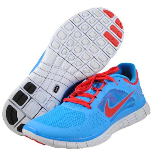 Nike Free Run 3 Blu Glow Red Mens Scarpe Da Corsa A Piedi 5.0 510642-403 Blu