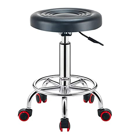 Amazon.com: Li Wei - Taburete de bar giratorio para silla de ...