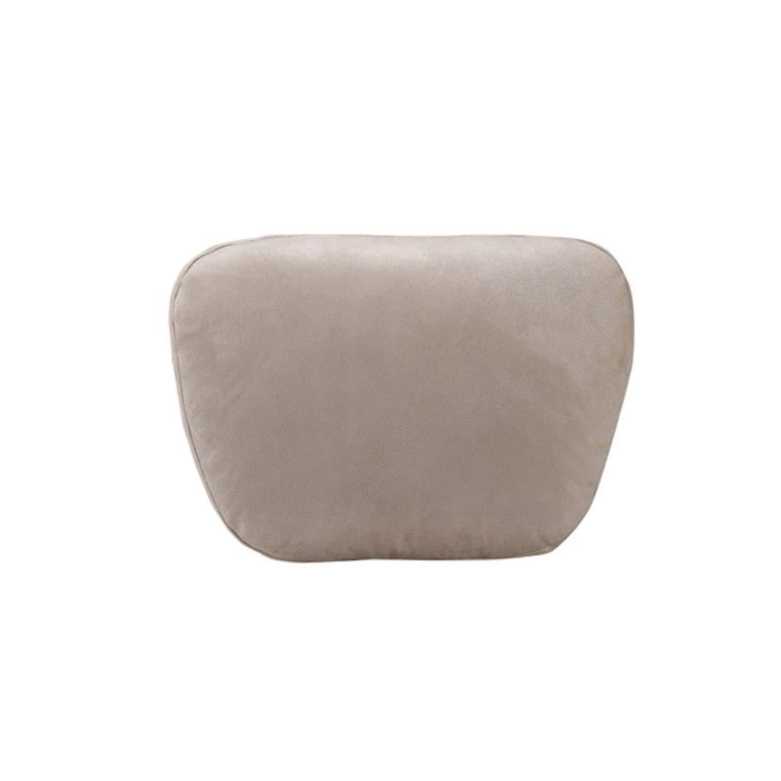 XIAMEND Neck Pillow Car Pillow Memory Foam Neck Pillow Car Seat Headrest (Color : Beige) by XIAMEND