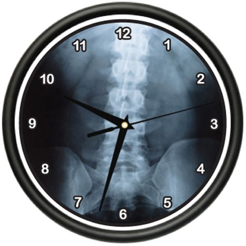 Amazon.com: DIGITAL X-RAY Wall Clock medicine doctor x ray bones testing surgeon gag gift: Health & Personal Care