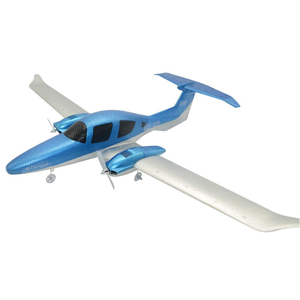 Volity Top Race Remote Control Airplane, GD-006 EPP 2.4G 3 Channel RC Airplane Aircraft with Light Straps Built in 3 Axis Gyro System Super Easy to Fly RTF [USA in Stock]