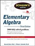 img - for Schaum's Outline of Elementary Algebra, 3ed (Schaum's Outlines) book / textbook / text book