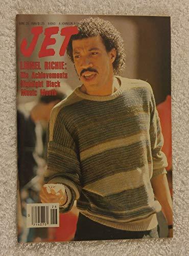 Lionel Richie - His Achievements Highlight Black Music Month - Jet Magazine - June 25, 1984