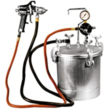 Astro Pneumatic PT2-4GH 2-1/4 Gallon Pressure Tank with Spray Gun and 12-Feet Hose