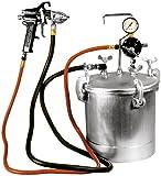 Astro Pneumatic PT2-4GH 2-1/4 Gallon Pressure Tank with Spray Gun and 12-Feet Hose