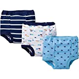 Gerber Baby Toddler Boy Training Pants, Cars, 3-Pack, 3T