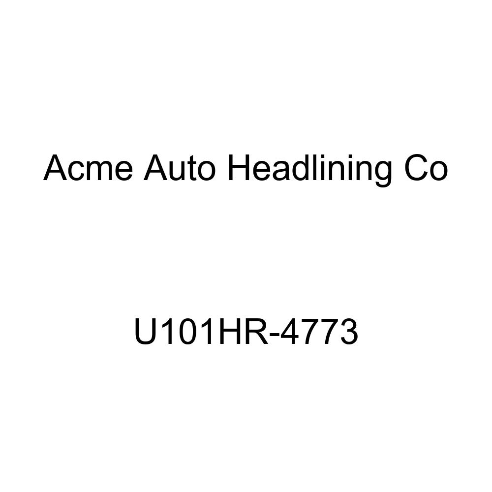 Acme U101HR-4773 Front Saddle Vinyl Bench Seat Upholstery with Headrest Cover