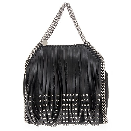stella-mccartney-womens-mini-falabella-studded-fringe-tote-bag-with-chain-strap-black