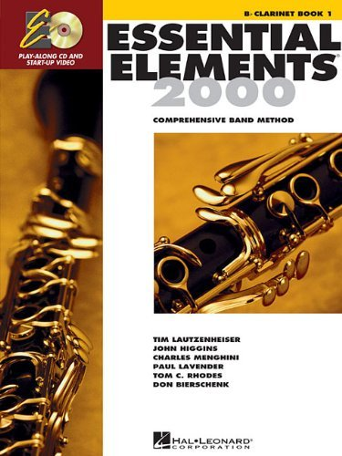 Essential Elements 2000: Comprehensive Band Method: B Flat Clarinet Book -