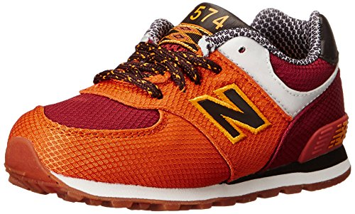 New Balance KL574 Expedition Running Shoe (Infant/Toddler) Orange