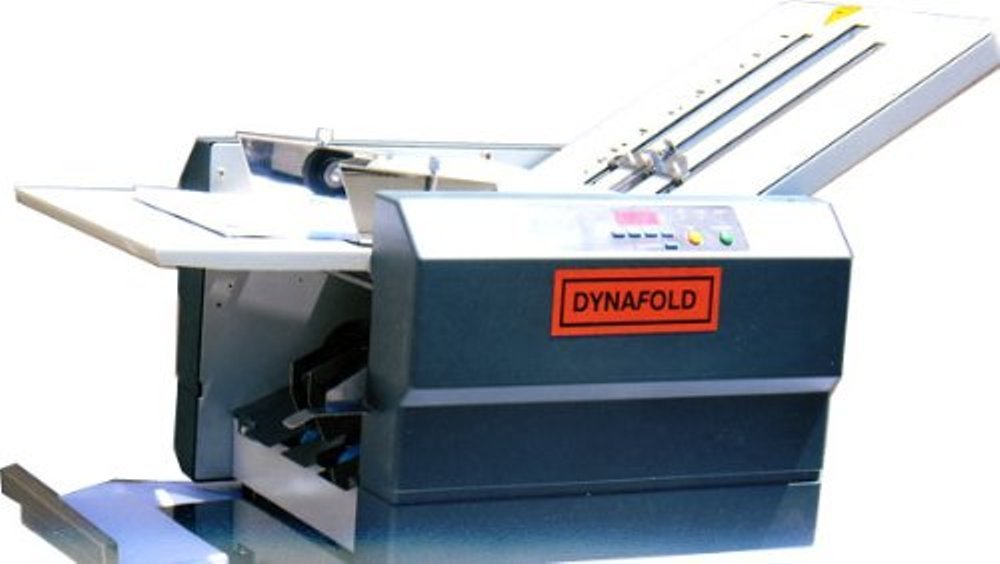 Dynafold DE-42FC Paper Folder Folding Machine, Easy paper adjustment, Folds up to 11 x 17 in, Paper Size Max. 11'' x 17'' / Min. 3.5'' x 5'', Paper Weight Up to 110/M Ex