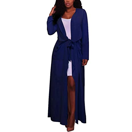 Amazon.com: Cardigan,FUNIC Women Long Sleeve Cardigan Open Front ...