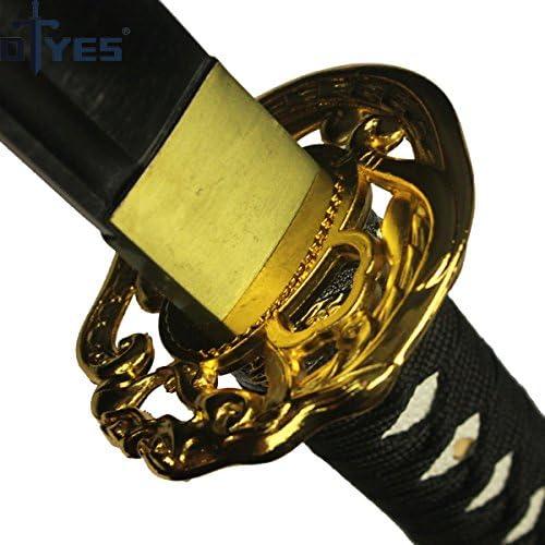 Amazon.com: DTYES espada japonesa Samurai Katana, funcional ...