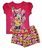 Minnie Mouse ''I'm a Keeper'' Little Girls Short & Shirt Set (4T)