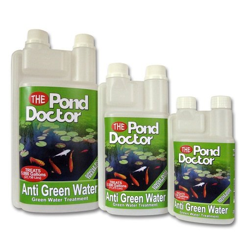 TAP POND DOCTOR ANTI GREEN WATER KOI FISH ALGAE TREATMENT FILTER CLEAR GOLDFISH (500ML)