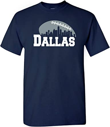 Xtreme Apparrel Dallas Football Skyline Shirt