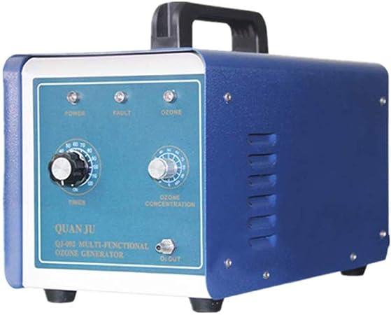 XINJING Generador de ozono Comercial actualizado, 2000 MG de purificador de Aire Industrial O3 | Desodorante | Esterilizador para el hogar, la Oficina, el Bote y el automóvil, Azul: Amazon.es: Hogar