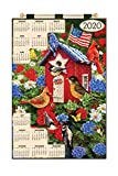 Design Works Jeweled Beads Kit Calendar 2020 ~ American Birdhouse