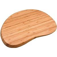 Tábua Irregular Arredondada de Bambu Oikos, 36 cm