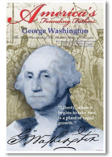 America's Founding Fathers: George Washington - Classroom Poster