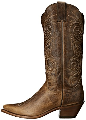 Justin Boots Women's Classic Western Boot Narrow Square Toe,Tan Damiana,8 B US by Justin Boots (Image #5)