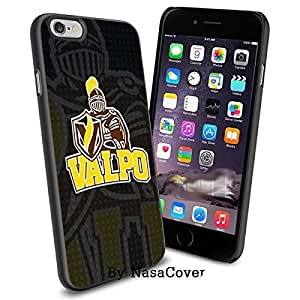 (Available for iPhone 4,4s,5,5s,6,6Plus) NCAA University sport Valparaiso Crusaders , Cool iPhone 4 5 or 6 Smartphone Case Cover Collector iPhone TPU Rubber Case Black [By Lucky9Cover]