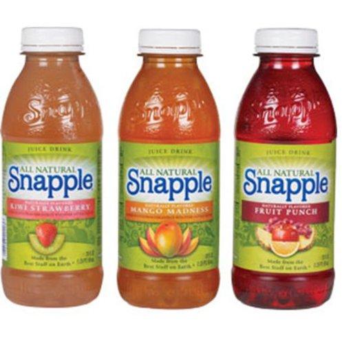 Snapple Variety Drinks, 20-Ounce Bottles (Pack of 24)