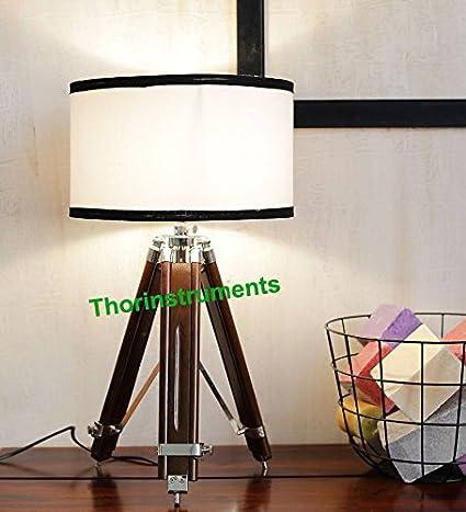 1940s vintage tripod table lamp amazon 1940s vintage tripod table lamp aloadofball Image collections