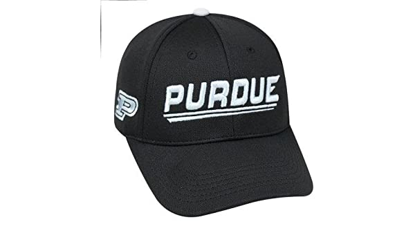 3280410144e Amazon.com   NCAA University of Purdue Boilermakers Black Baseball Hat   Cap    Sports   Outdoors