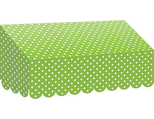 Teacher Created Resources Lime Polka Dots Awning (77162)