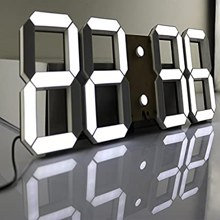 Pinty MultiFunctional Remote Control Large LED Digital Wall Clock