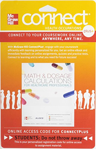 Connect 1-Semester Access Card for Math and Dosage Calculations