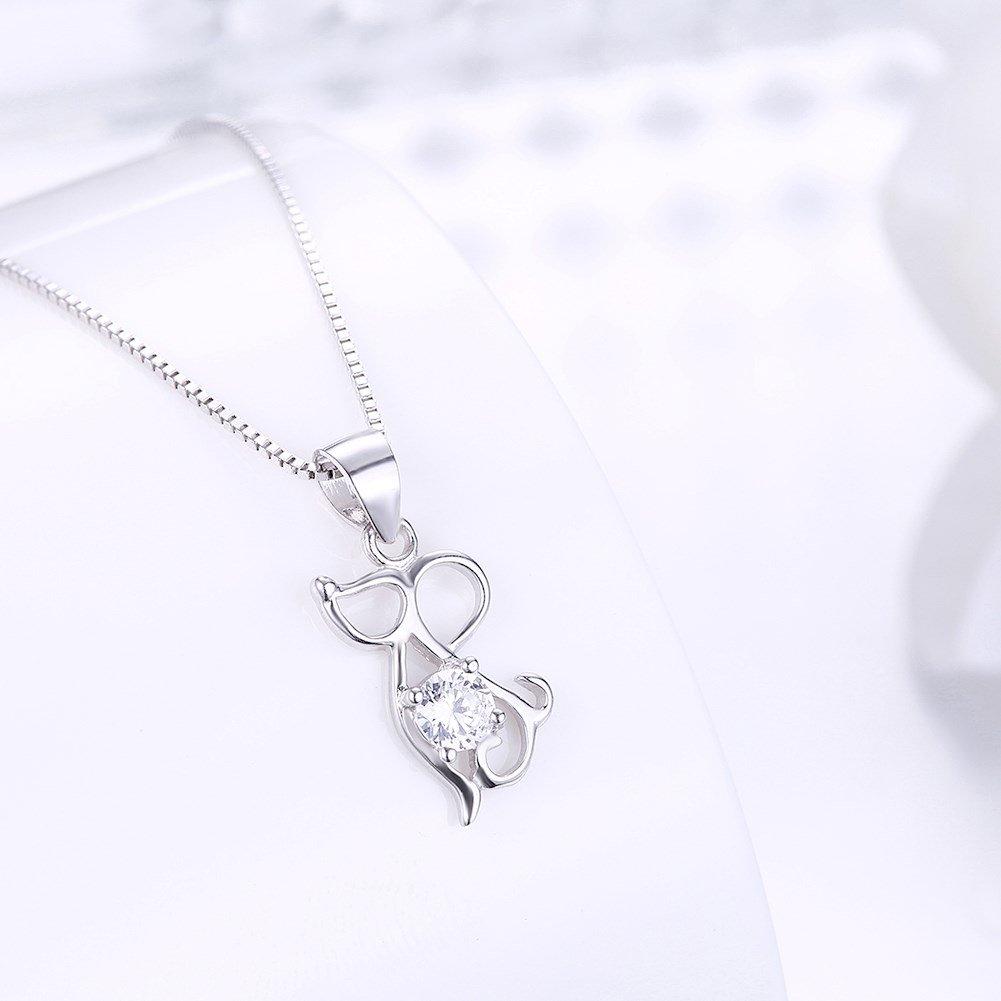 myazs8580 SH-N0029 Fashion Silver Necklace