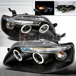 Amazon.com: Spec-D Tuning Chevrolet Aveo 2004 2005 2006 2007 2008 LED Halo Projector Headlights