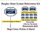Security Sign & Security Decal - Kit #102 Burglar Alarm Warning Deterrence System