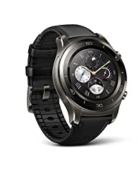 Huawei Watch 2 Classic LE0-BX9 Titanium Grey with Black Hybrid Strap - Android Wear 2.0 (US Warranty)