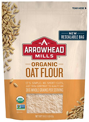 - Arrowhead Mills Organic Oat Flour, 16 oz. Bag (Pack of 6)