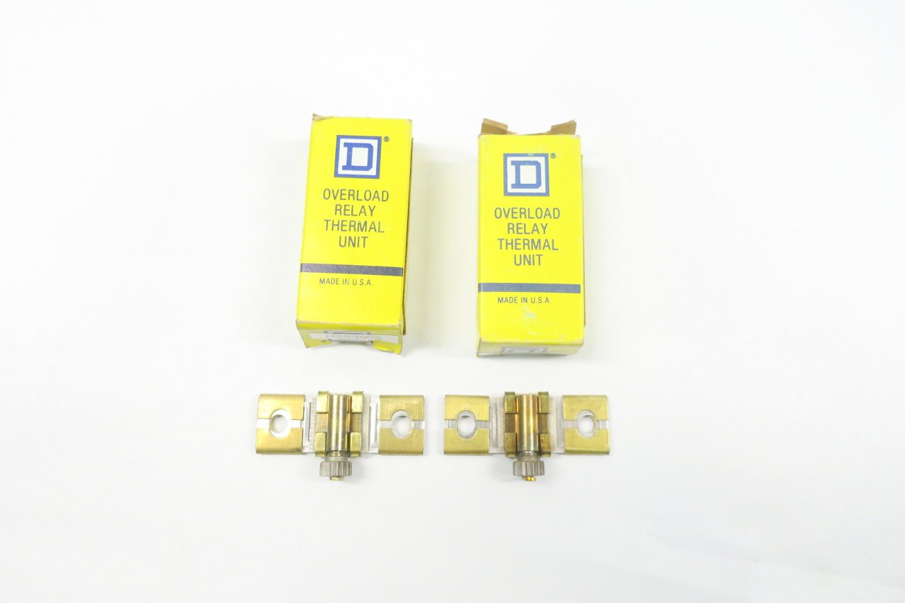 Square D B7.70  Overload Relay Thermal Unit LOT OF 2