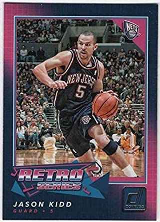 best sneakers 13f45 f56b3 Amazon.com: 2017-18 Donruss Basketball Retro Series #22 ...